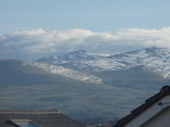 Views to Snowdonia