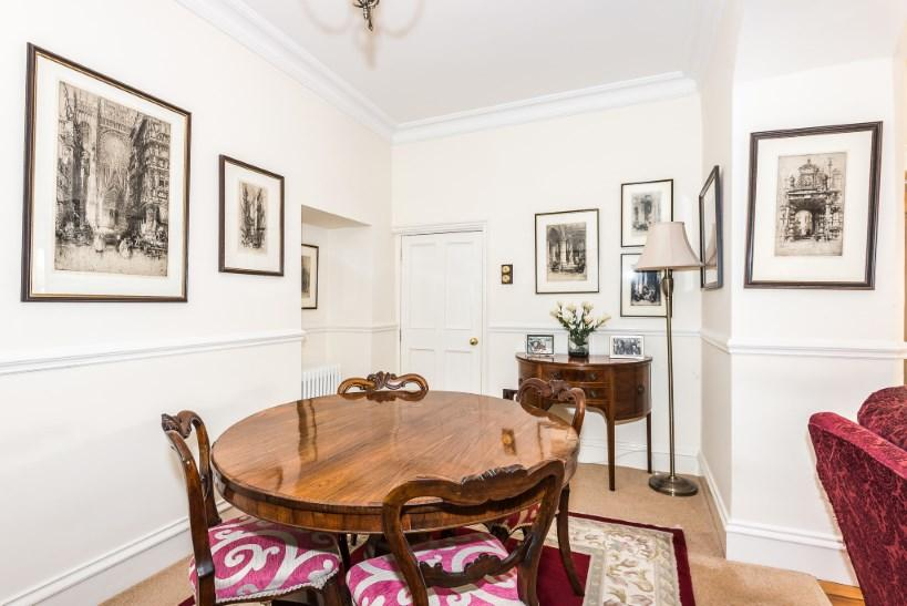 dining area off the
