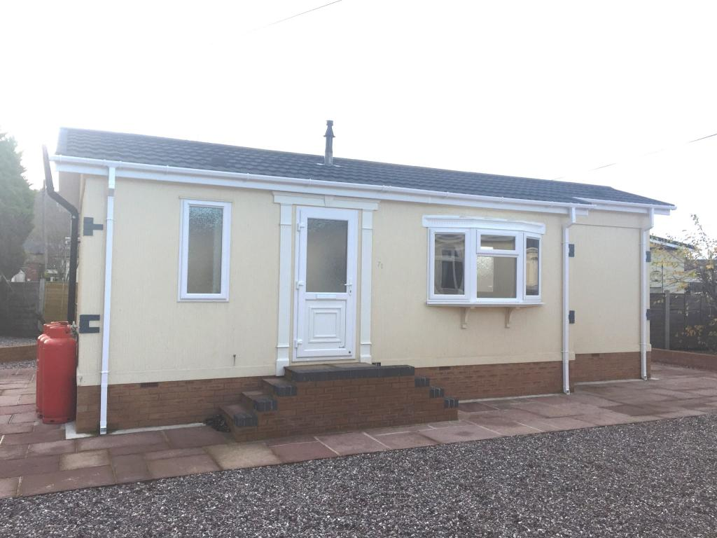 1 bedroom mobile home for sale in tilbey drive frodsham for One bedroom modular home