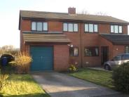 3 bedroom semi detached home for sale in Bro Clywedog, Rhewl...