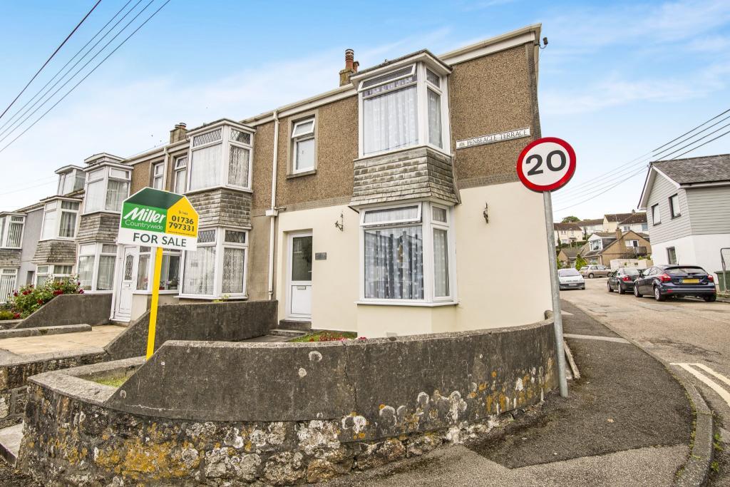 3 bedroom end of terrace house for sale in penbeagle for 3 porthminster terrace st ives