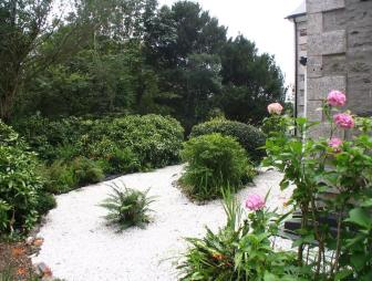 photo of gravel garden
