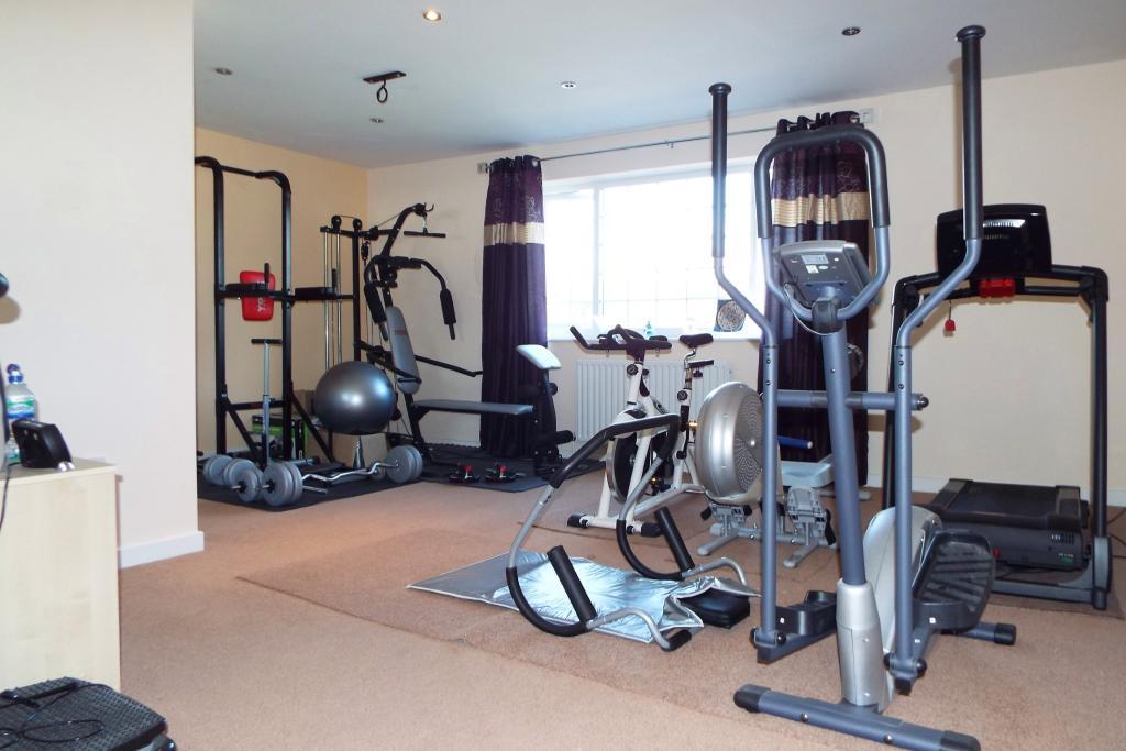 Bedroom 2/Gymnasium