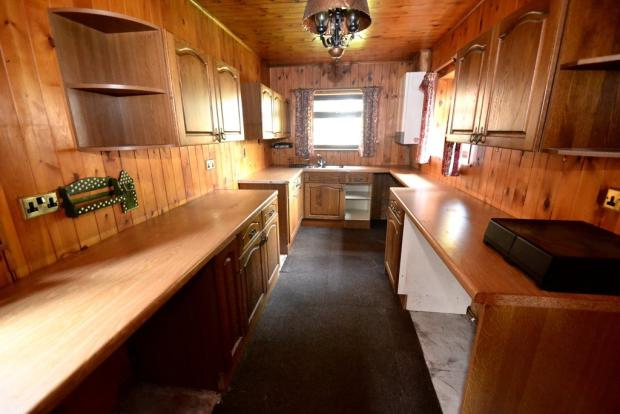Extended kitchen ...