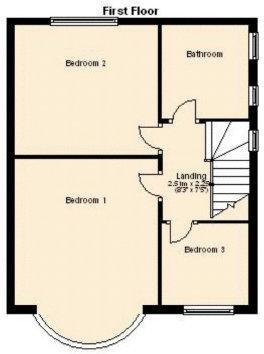 First floor (not ...