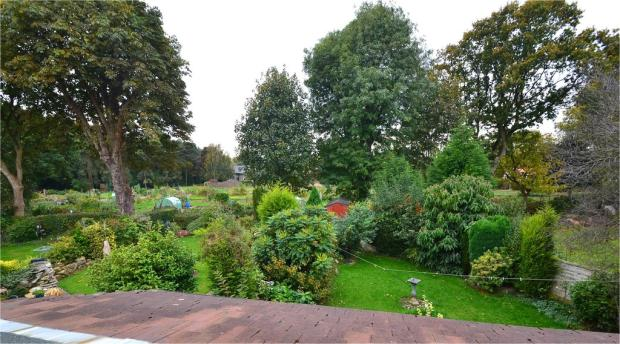 Rear garden (aeri...