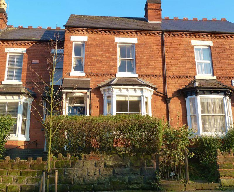 Front Terrace Elevation Images : Bedroom terraced house for sale in alcester road