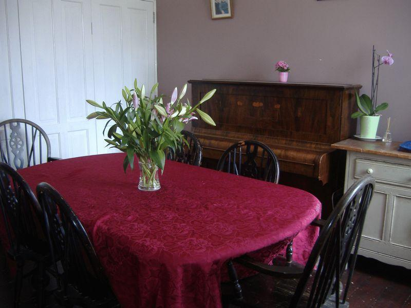 Dining room with...