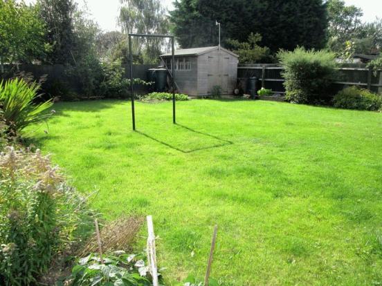 Main rear garden