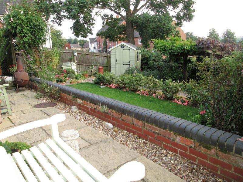 Garden and pav...