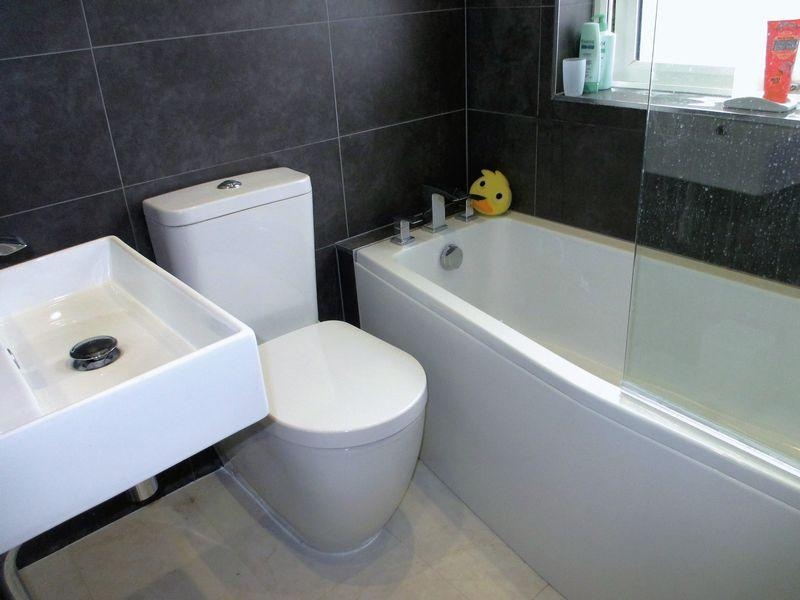 Replaced bathroom