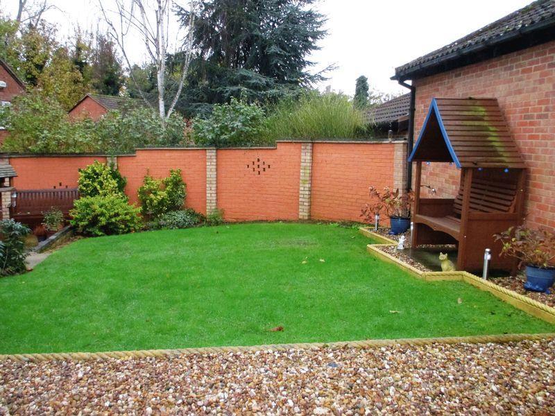 Rear Garden Lawn