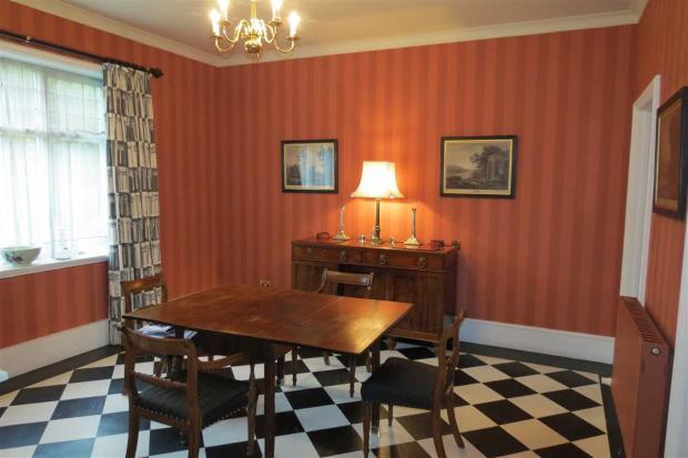 Second Dining Room: