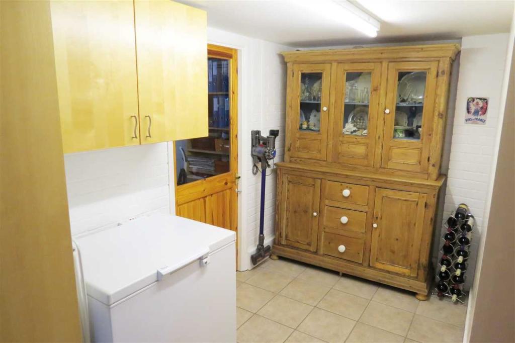 Freezer Room: