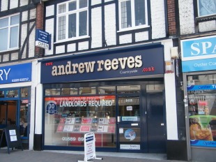 Andrew Reeves, Orpington-Lettingsbranch details