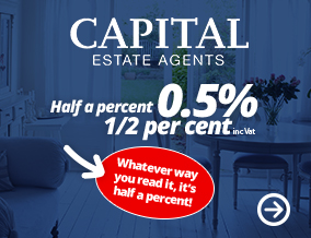Get brand editions for Capital Estate Agents, Bromley