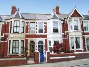 Terraced property in Mafeking Road, CARDIFF