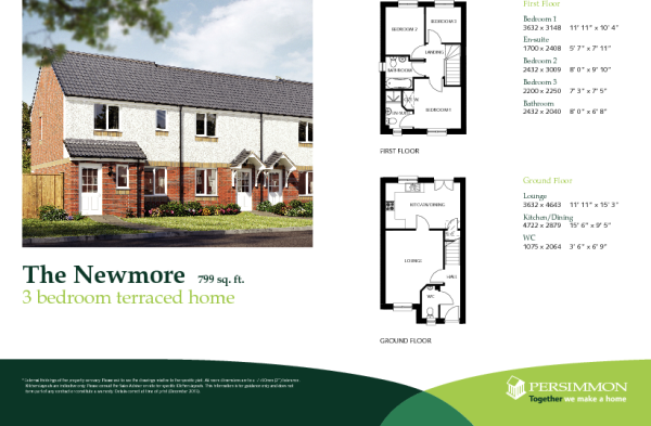 Floor plans for persimmon homes     House of samples