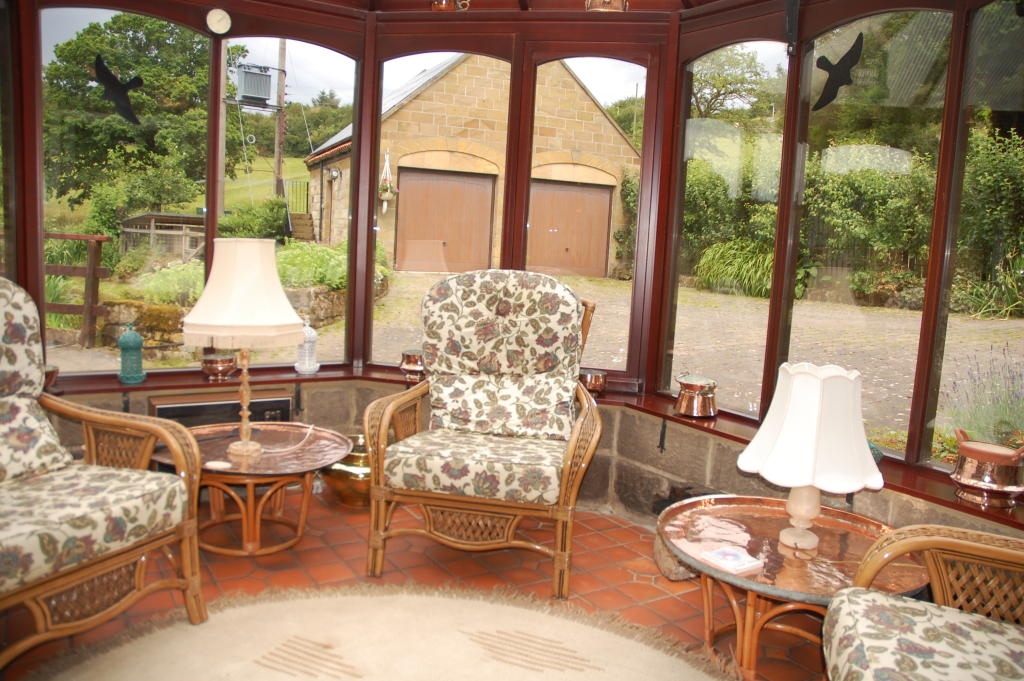 photo of beige brown olive conservatory