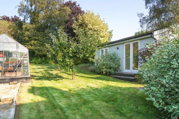 Garden and studio