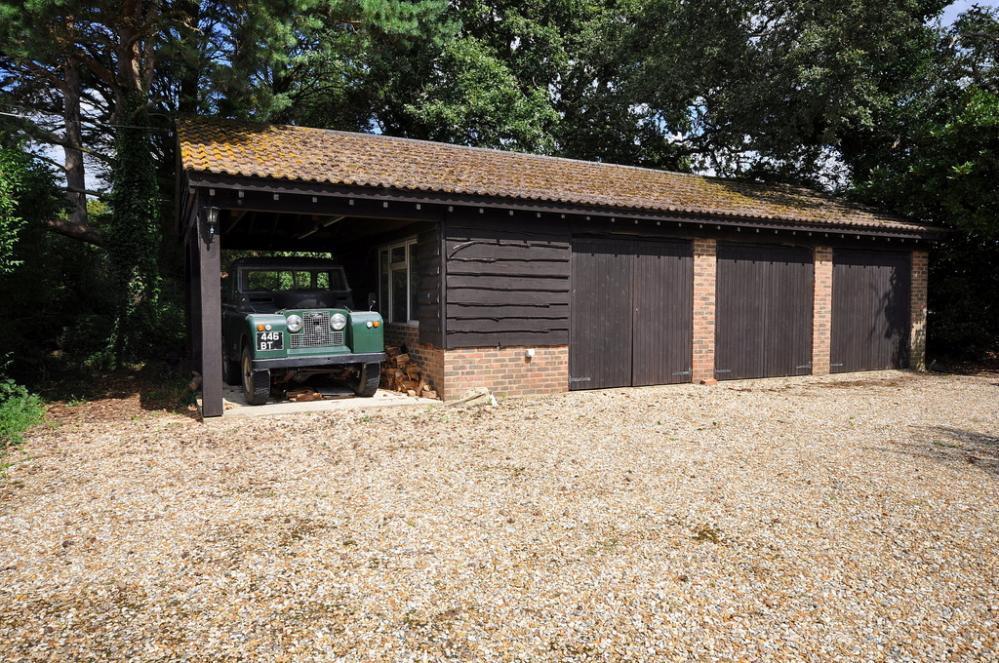 Triple Garage and Carport