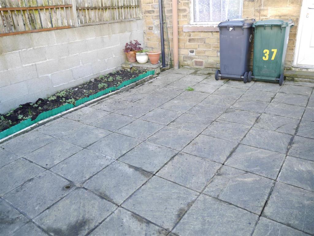 rear yard garden
