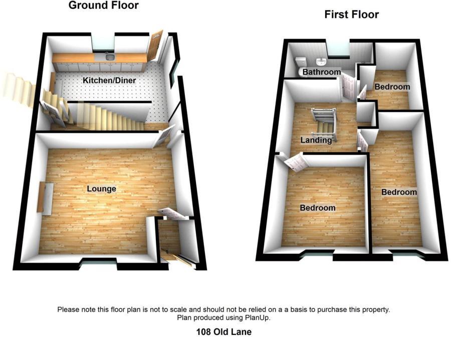 3 bedroom terraced house for sale in Old Lane, Birkenshaw, BD11 ...