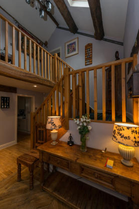 Vaulted staircase