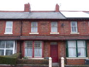 Terraced house in Derby Street West...