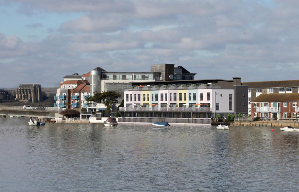 Oyster Quay,Rear Elevation