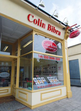 Colin Bibra Estate Agents Ltd, Londonbranch details