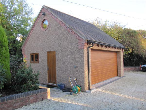 4 bedroom detached house for sale in cobwebs ted pitts for Detached garages for sale