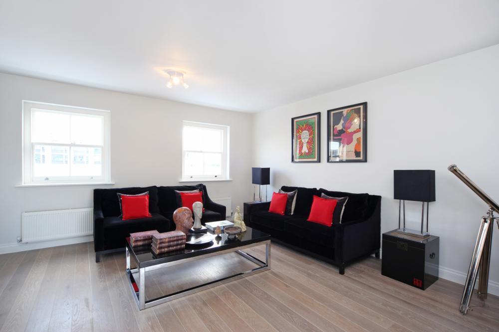 Red And Black Living Room Ideas – Interior Design