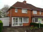 3 bedroom semi detached house in Birch Road, Rubery...