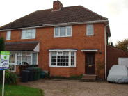 3 bed semi detached property in St. Chads Road, Rubery...