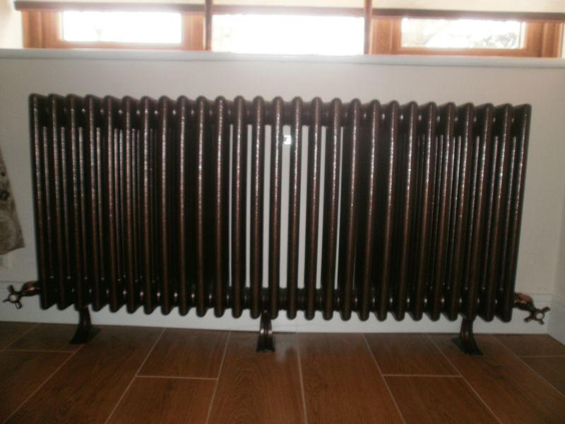 Feature radiator...