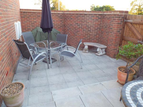 Paved Area to Side