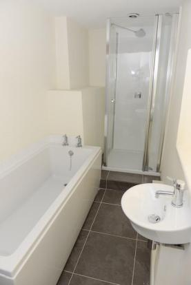 En-suite with bath