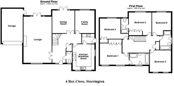 Floorplan - 4 Bax...