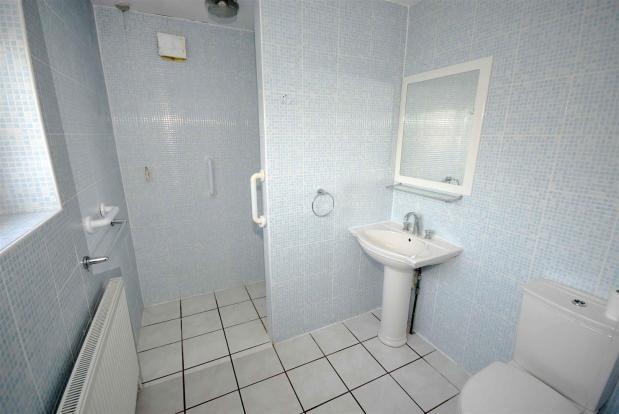 Wet Room shower/wc