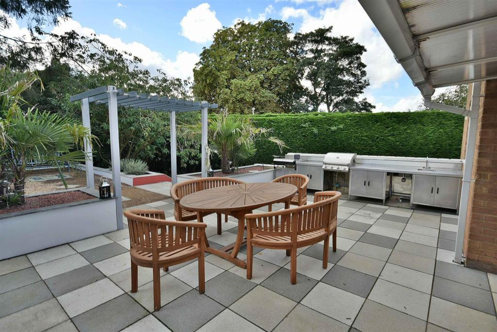 Patio and Barbecue A