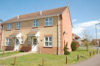 semi detached house for sale in Burrow Drive, Lakenheath...
