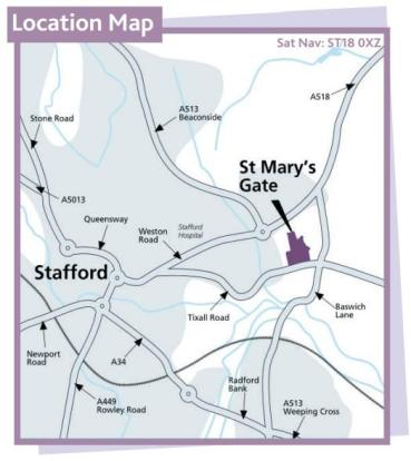 Location Map St Mary