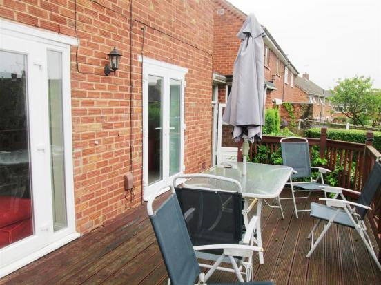 Rear Decking with Do