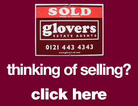 Get brand editions for Glovers Estate Agents, Kings Heath Birmingham