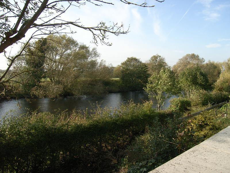 Private river frontage