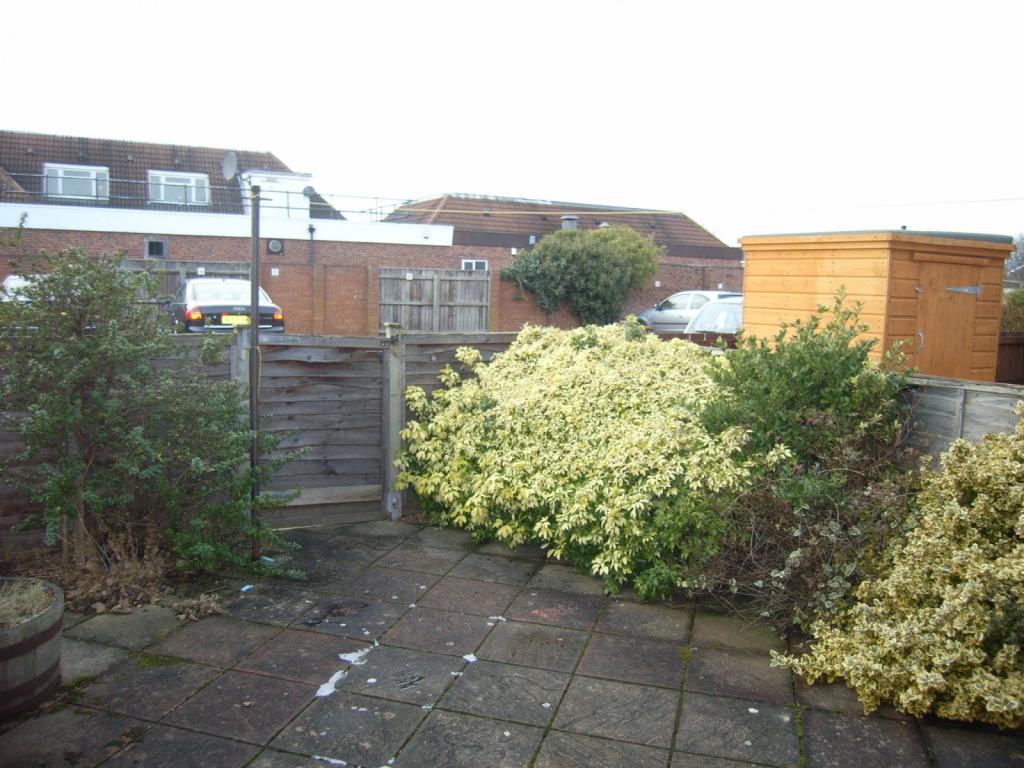 Rear garden/yard