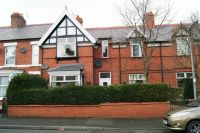 Terraced home for sale in Bersham Road, Wrexham