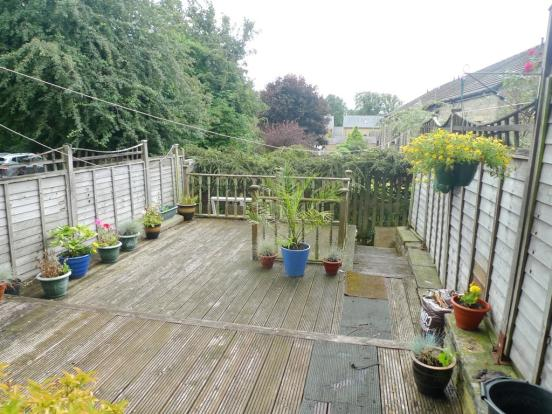 TWO TIER DECKING