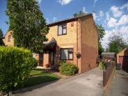 semi detached house in Charnwood Close...
